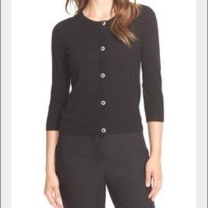 Kate Spade jewel button wool cardigan sweater